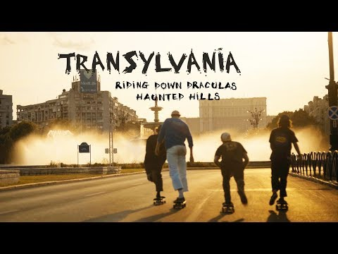 Riding down Draculas haunted hills in Transylvania. | Skate Tours