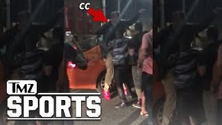 CC Sabathia -- Caught Up in Toronto Street Brawl