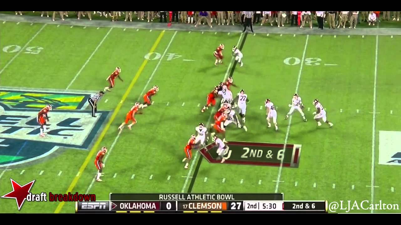 Garry Peters vs Oklahoma (2014)