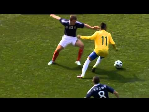NEYMAR skills & tricks 2011 new HD