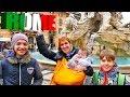 Видео путешествие в Рим с Машей, Бьянкой, Адрианом и Светой.