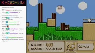 Kirby's Adventure Extra Mode + Super Mario Bros + Galaga + Super Adventure Island