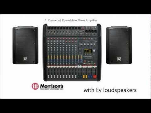 Dynacord PowerMate Mixer Amplifier