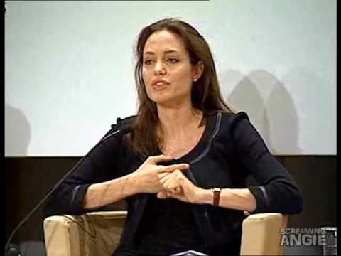 Angelina Jolie -World Economic Forum Davos 2006- Part1