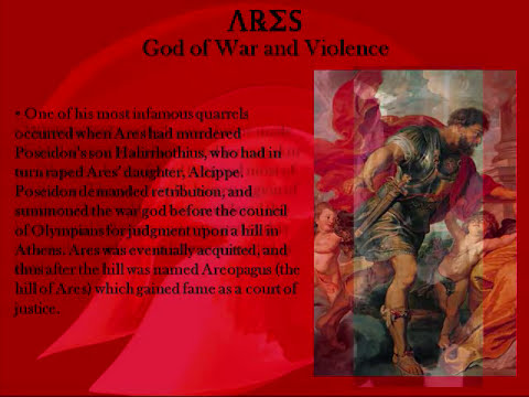 Ares - The Greek God of War and Violence