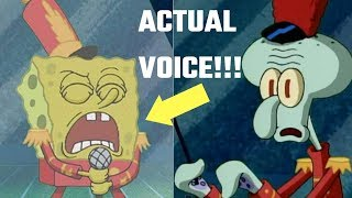 What if SWEET VICTORY was sung W/ SPONGEBOBS Real Voice???