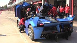 The Sound of HELL: Ferrari FXXK Insane V12 Noises!