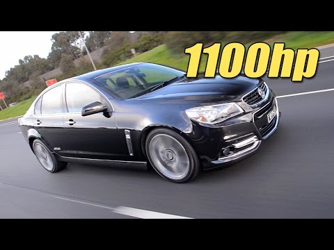 Crazy 1100HP Holden VF Commodore Sleeper