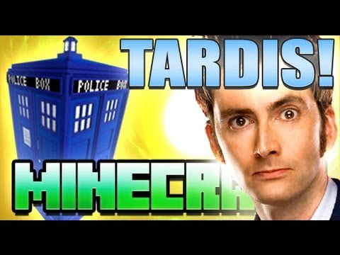 Minecraft TARDIS Doctor Who Mod