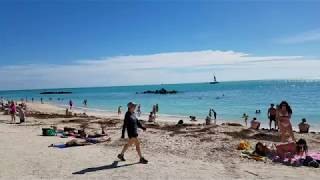 Best Beach in Key West - Fort Zachary Taylor State Park - Incredible Turquoise Waters!