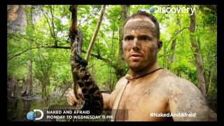 NAKED AND AFRAID  MONDAY-WEDNESDAY AT 11PM