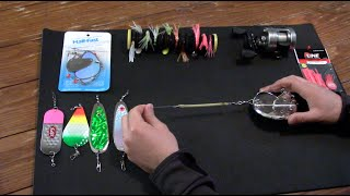 How to Catch Kokanee Salmon using Jet Diver and Dipsy Diver