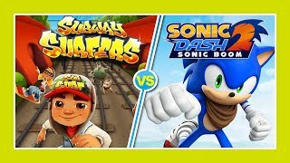 Subway Surfers -VS- Sonic Dash 2 - Best Casual Games