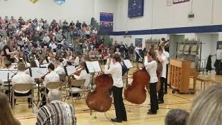 Joey's 6th grade orchestra playing Deep Sea Fandango
