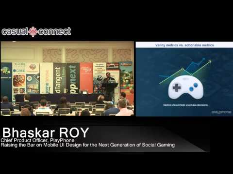 Raising the Bar on Mobile UI Design for the Next Generation of Social Gaming | Bhaskar ROY