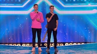 The X Factor UK 2017 Jack & Joel Six Chair Challenge Full Clip S14E13
