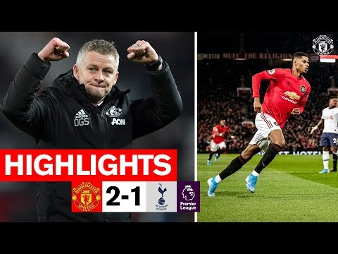 Highlights  Manchester United 2-1 Tottenham  Premier League