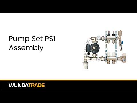 Manifold Assembly part 3 - Pump Set Assembly