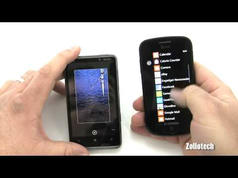 Video: HTC HD7 vs Samsung Focus WP7 Comparison