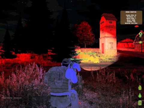 Arma 2 Dayz Zombie Mod NightTime [HD 1080p]