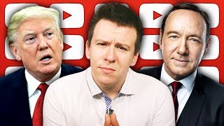 """HUGE Underage Accusations Against Kevin Spacey Blow Up, Facebook """"Spying"""", and Manafort"""