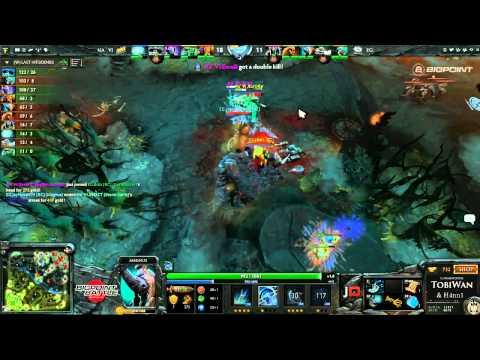 Na'Vi vs Evil Geniuses Game 2 - Bigpoint Battle DOTA2 - TobiWan