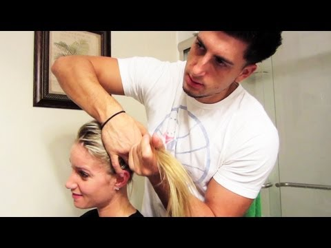 MY BOYFRIEND DOES MY HAIR