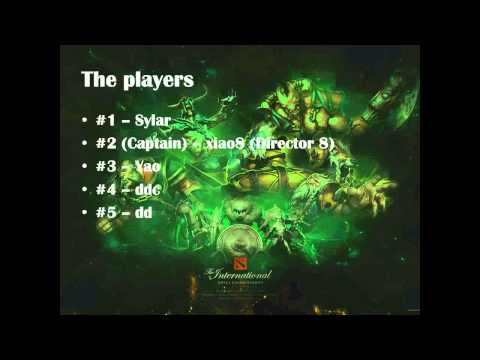 Who is LGD China  The International 2013 East Qualifier