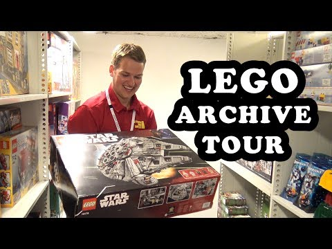 Inside the LEGO Archive Vault in Denmark