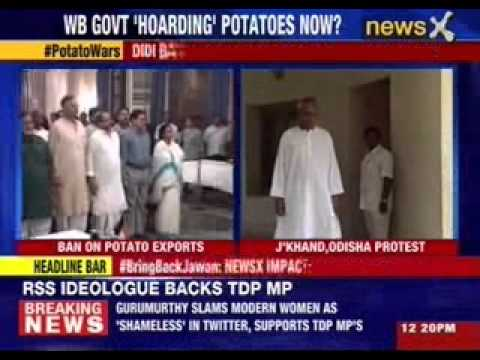 Mamata Banerjee bans potato export to neighbouring states