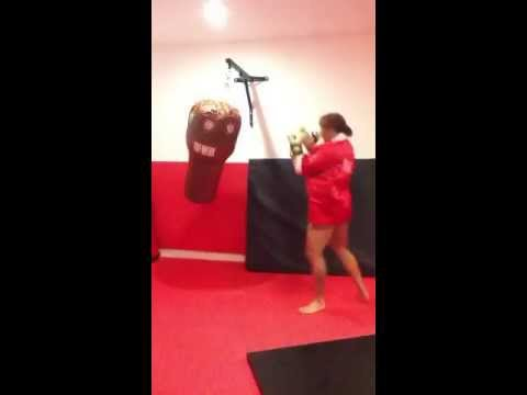 Rita Sargo - kick boxing fun
