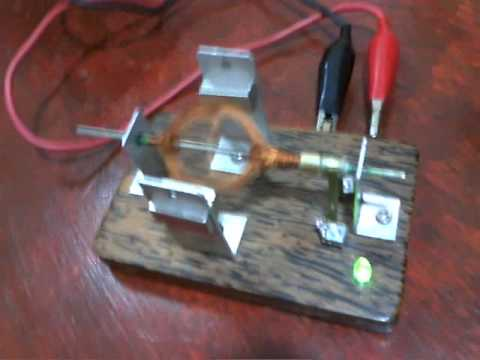 Small Homemade Electric Motor Very Fast Youtube