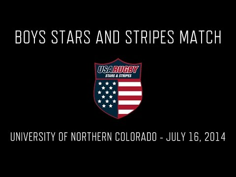 Boys Stars and Stripes Match 2014