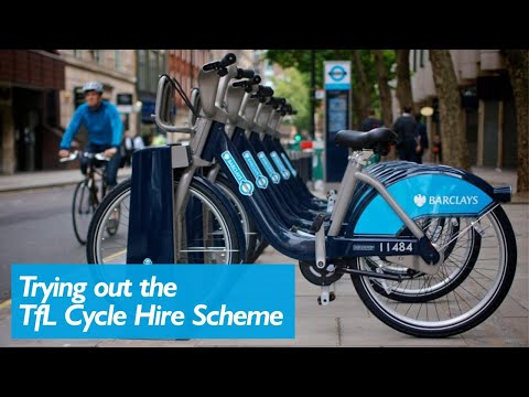 Boris Bikes - The TfL Cycle Hire Scheme