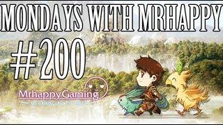 Mondays w/ Mrhappy #200 - Weekly Q&A