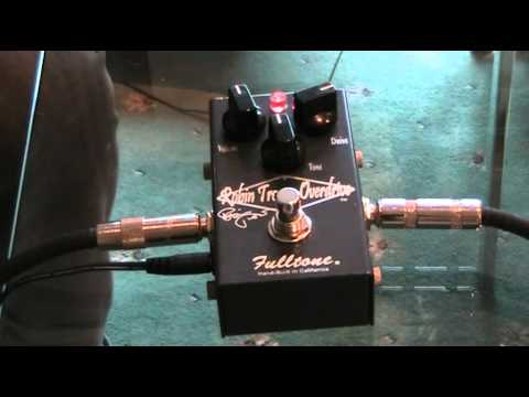 A Review of the Robin Trower Fulltone Overdrive Guitar Pedal