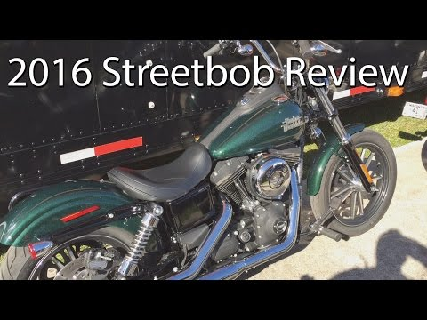 2016 Harley Davidson Streetbob Motorcycle Review