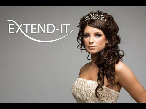 How to bridal updo with Extend-it clip-in extensions pt 1/2