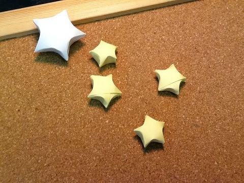Daily origami 394 lucky stars tanabata youtube for How to make lucky paper stars