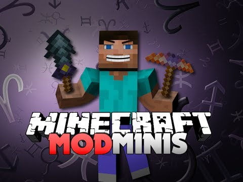 Minecraft Mod Mini - THAUMCRAFT TOOLS