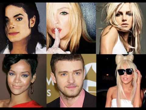 0 Pop Music Remix (Michael Jackson, Madonna, Lady Gaga, Britney Spears, Rihanna and Justin Timerlake)