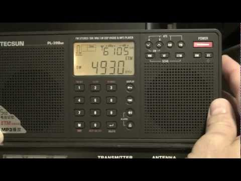 Radio - HAM - Antenna: Part 4 - Shortwave listening on Tecsun PL-398MP