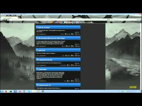 How To Install Skyrim Mods - Nexus Mod Manager
