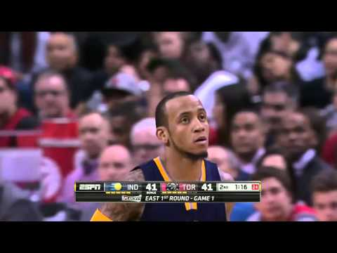 Indiana Pacers vs Toronto Raptors Game 1 | April 16, 2016 | NBA Playoffs 2016