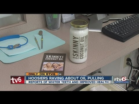 Experts: Oil pulling results in better dental health, has additional health benefits