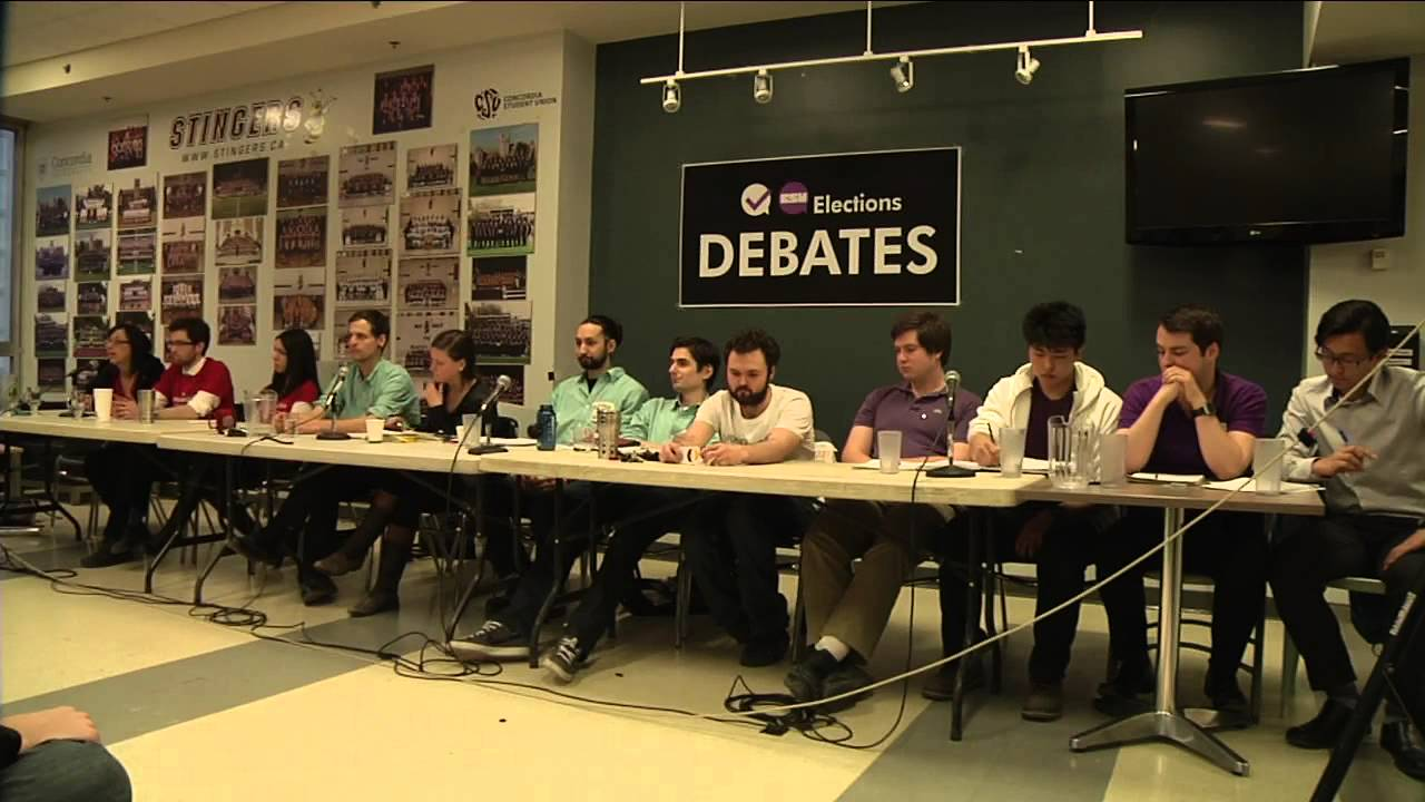 LIVE The 2014 CSU Electoral Debate