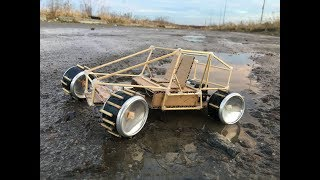 DIY Toy RC Buggy at Home