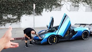 THEY BROKE MY MCLAREN! *THIS REALLY SUCKS SMFH*