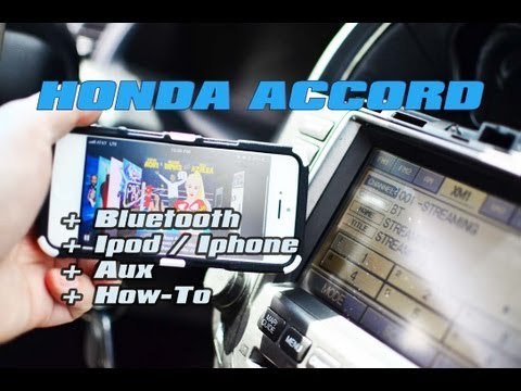 HONDA ACCORD NAV Ipod & Bluetooth iSIMPLE PXAMG GATEWAY ISBT21 (A2DP STREAMING)
