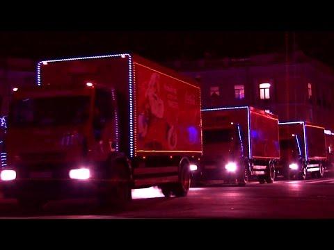 Промо ролик для компании Кока Кола. Съемка промо ролика.